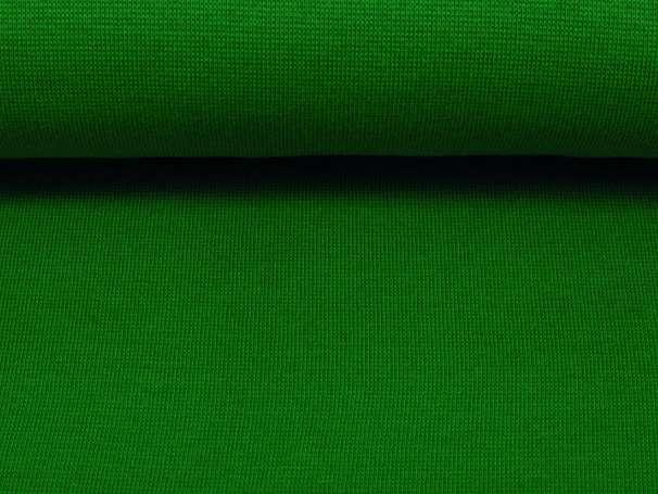 Bündchenstoff - grasgrün