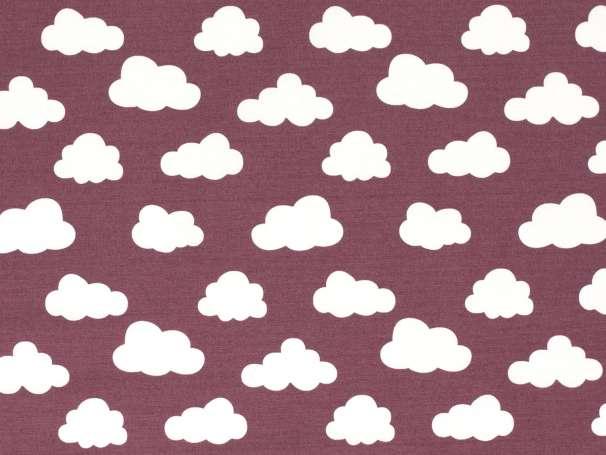 Canvas - Wolken - beere