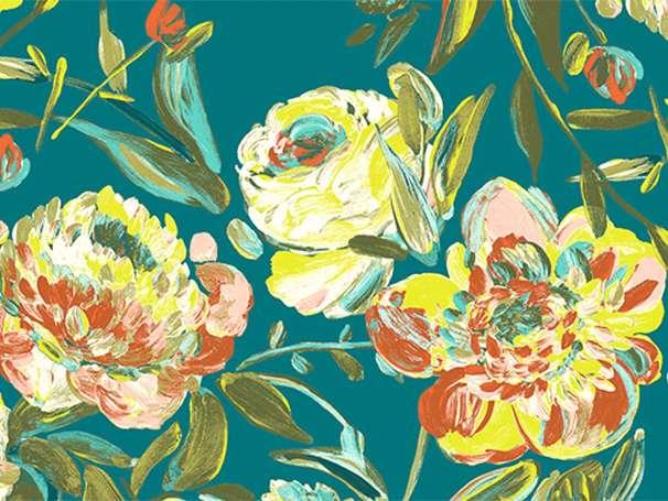 Baumwolle Stoff - Virtuosa - Prima Flora Calma