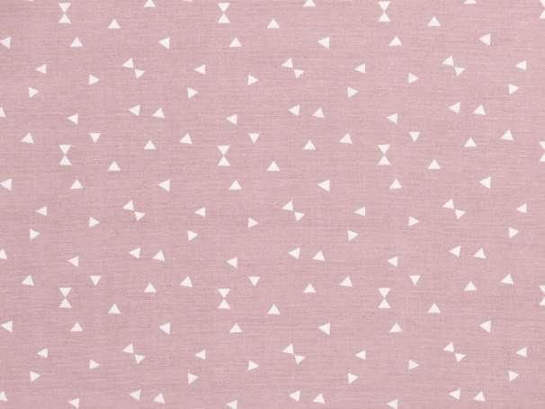 Canvas - Dreiecke - rosa