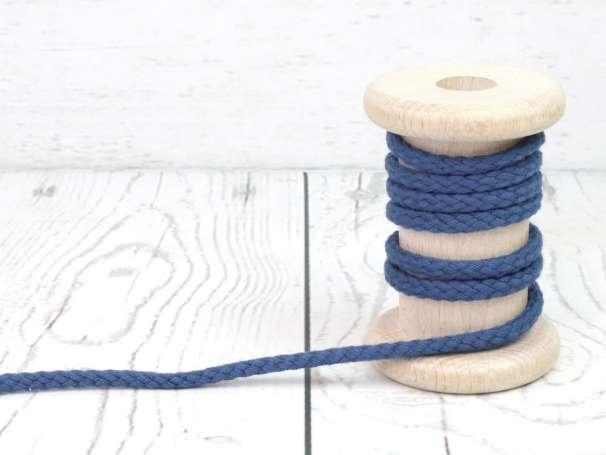 Kordel Baumwolle - 5 mm - jeansblau