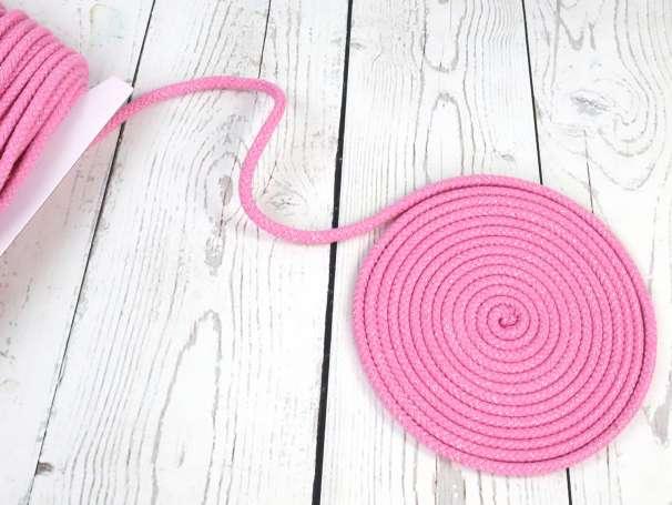 Glitzerkordel 10mm - rosa