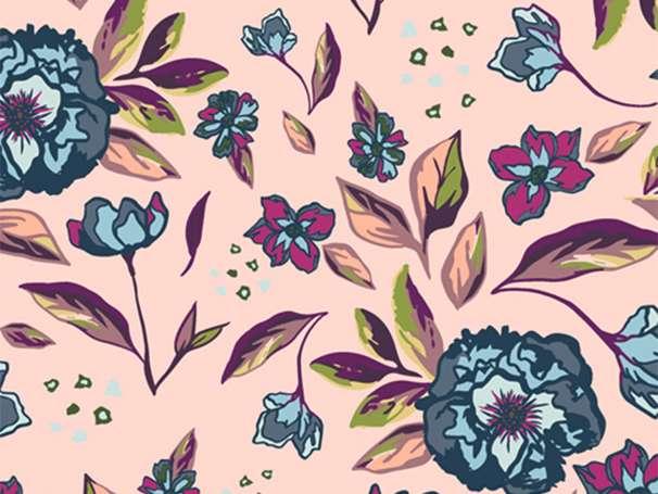 Baumwolle Stoff - Mystical Land - Enchanted Flora Ablush