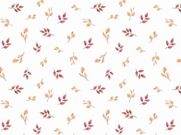 Jersey Stoff - Füchse & Blätter - Kombistoff