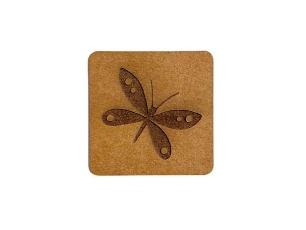 SnaPpap Label - Quadrat - Schmetterling