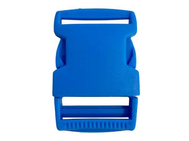 Steckschnalle Kunststoff - 30 mm - türkisblau