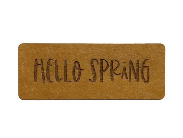 SnaPpap Label - Hello Spring