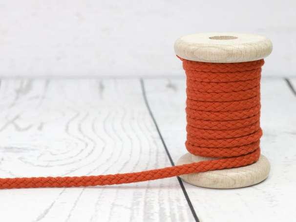 Kordel Baumwolle - 5 mm - kürbis