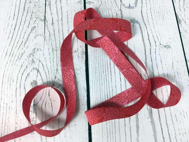 Webband rot - pink - SpitzenWerk