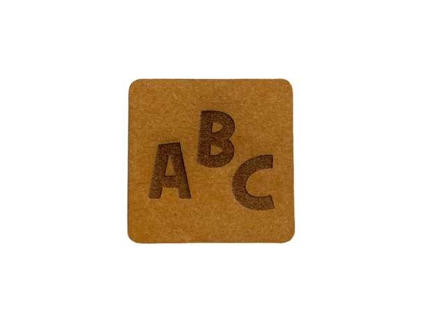 SnaPpap Label - Quadrat - ABC