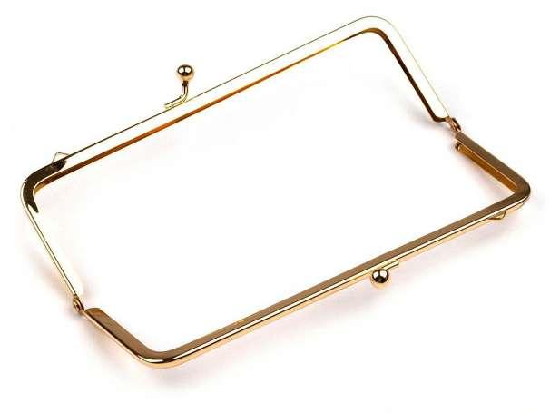 Taschenbügel - 8 x 18 cm - gold