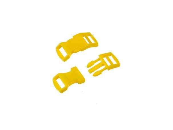 Klickschnalle - Kunststoff - 16 / 20mm - gelb