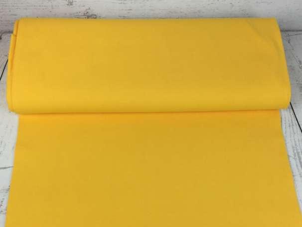 Glattes Bündchen - gelb