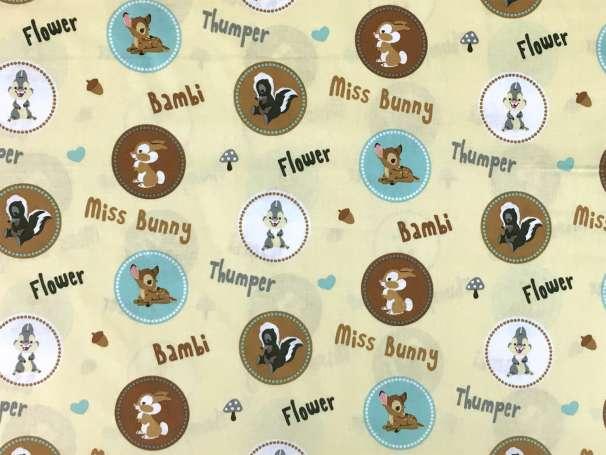 Baumwolle Stoff - Bambi & Thumper
