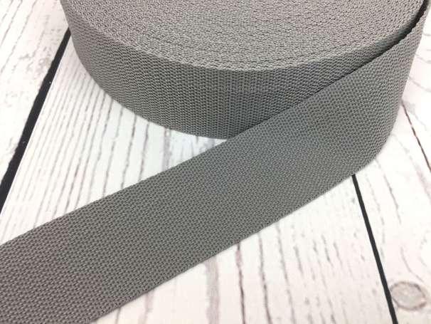 Gurtband - 40mm - grau