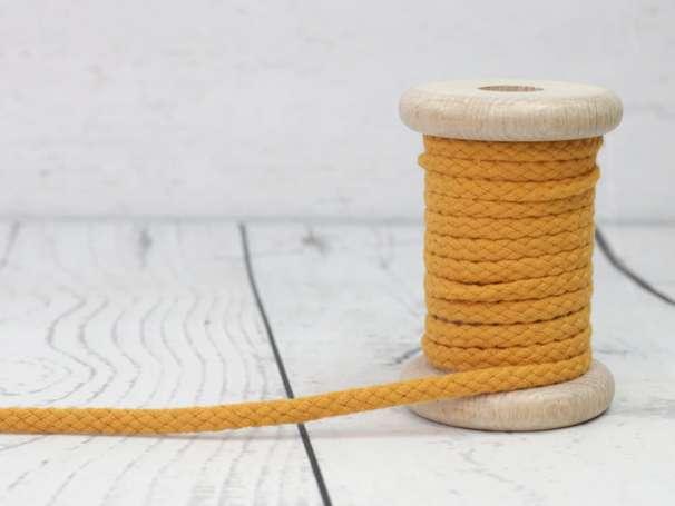 Kordel Baumwolle - 5 mm - senf
