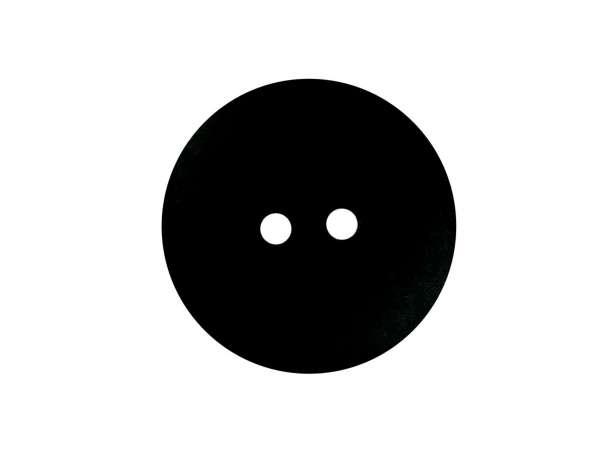 Knopf rund - 22mm - schwarz