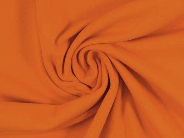Glattes Bündchen - orange