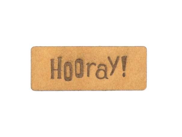 SnaPpap Label - Hooray!