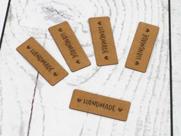 SnaPpap Label - Herzchen, Handmade
