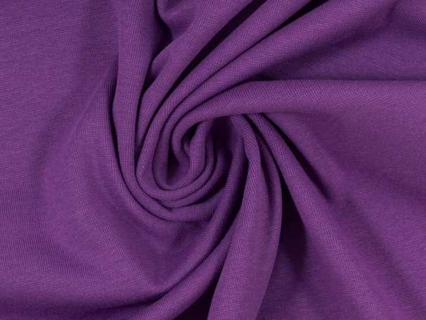 Glattes Bündchen - lila