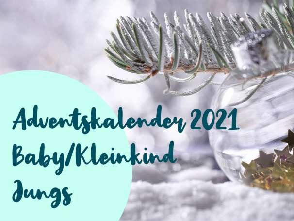 JUNGS Adventskalender 2021 - Baby/Kleinkind - Vorbestellung