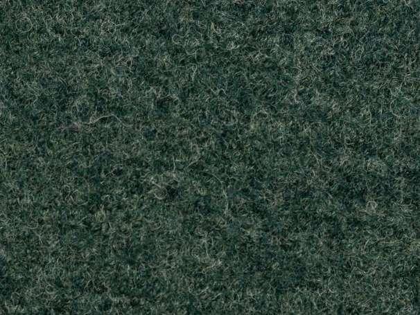 Wollstoff - Walk - dunkelgrün melange