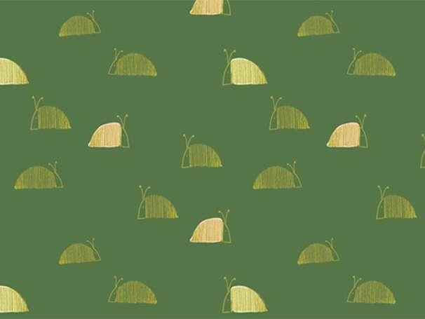Baumwolle Stoff - Dew & Moss - Mosss Snail Mail