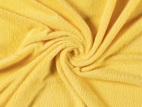 Uni Kuschelfleece - gelb