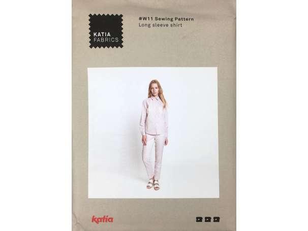 Katia Schnittmuster - # W11 - Langärmeliges Hemd