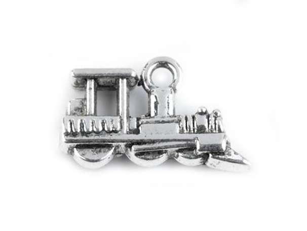 Anhänger - Lokomotive - platin