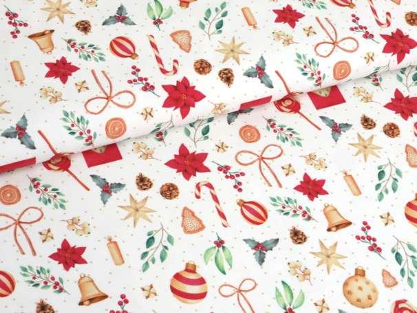 Jersey Stoff - Weihnachten