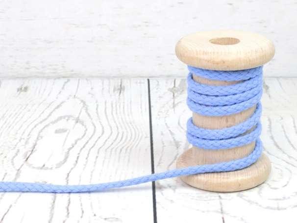 Kordel Baumwolle - 5 mm - hellblau