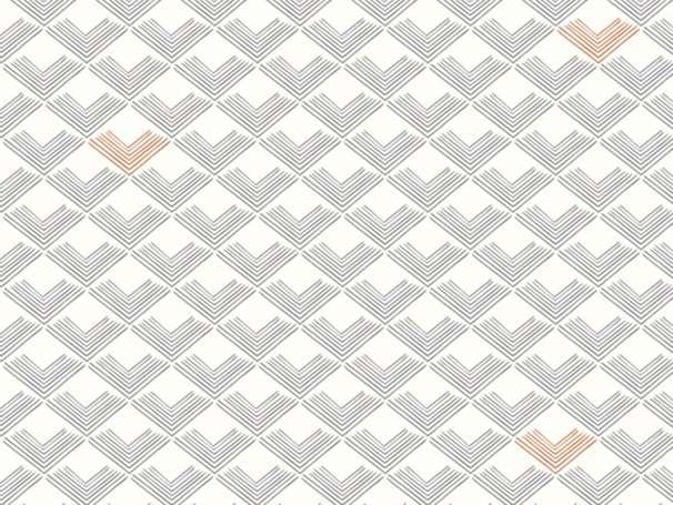 Baumwolle Stoff - Dollhouse - Rooftiles Slate