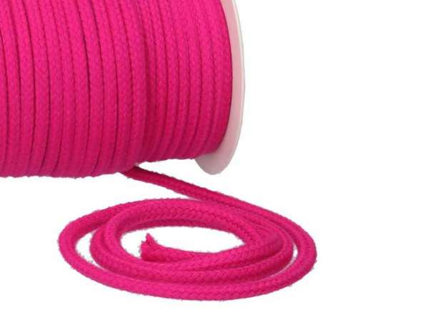 Baumwollkordel 8mm - pink