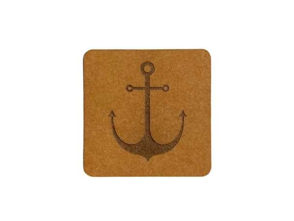 SnaPpap Label - Quadrat - Anker