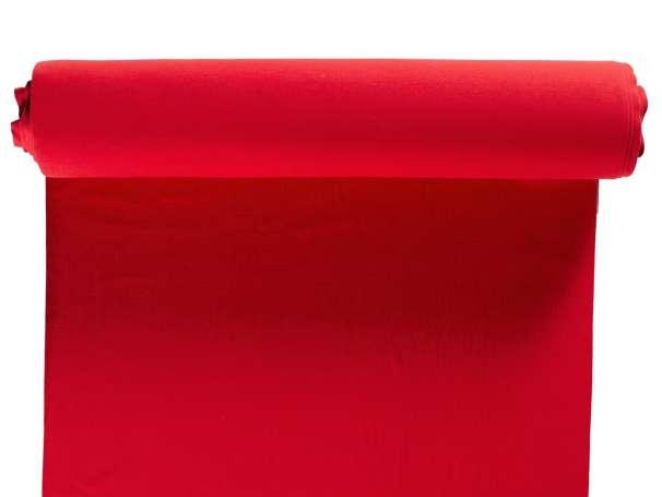 Bündchenstoff, extra breit - rot