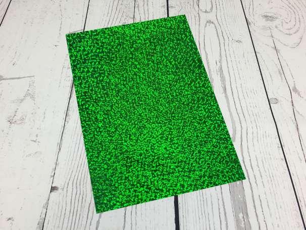 Fashion Plotterfolie - DIN A4 - grün sparkle