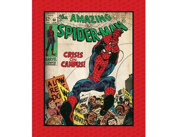 Baumwolle Stoff - PANEL - The Amazing Spider-Man