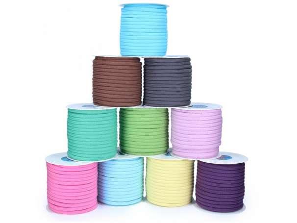 Baumwollkordel 8mm - verschiedene Farben