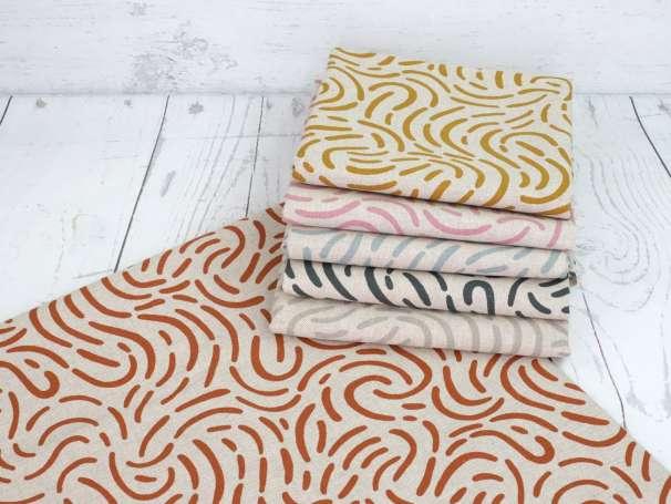 Canvas - Linien - verschiedene Farben