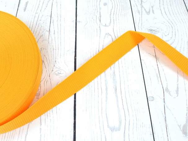 Gurtband - 40mm - dunkles gelb
