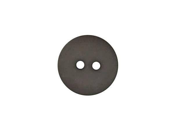 Knopf rund - 18mm - grau