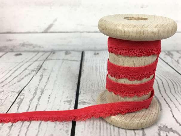Elastische Spitze Bogenkante - rot