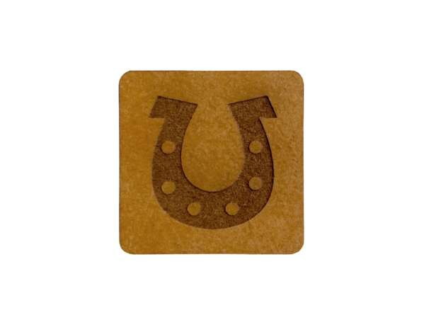 SnaPpap Label - Quadrat - Hufeisen