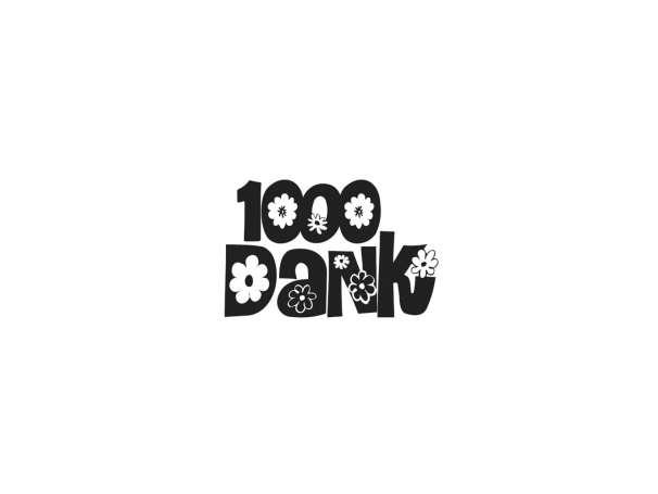 "Mini-Holzstempel ""1000 Dank"""