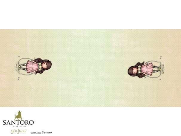 Jersey PANEL - SANTORO's Gorjuss™ - The Skipping Rope