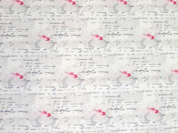 Baumwolle Stoff - Vintage Chic Capsules - Amorous Manuscript