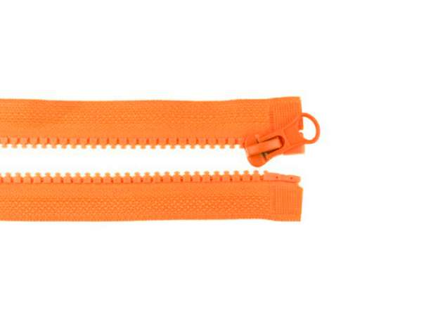 Teilbarer Reißverschluss - 70 cm - orange