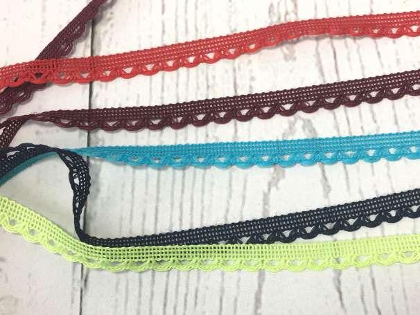 Spitze - 11 mm - verschiedene Farben